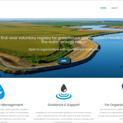Water Energy Nexus Registry